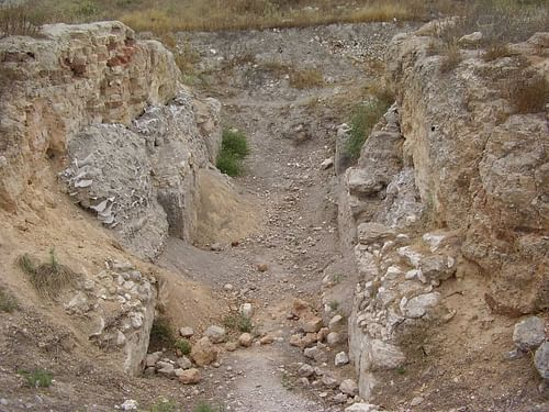 MB Canaanite Gate at Tel Gezer