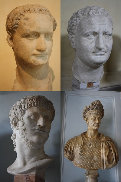 Roman Emperors (by Mark Cartwright)