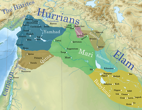 Ancient Syro-Mesopotamia ca. 1764 BCE