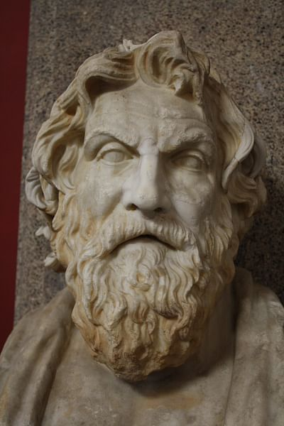 Antisthenes Bust, Vatican Museums (by )