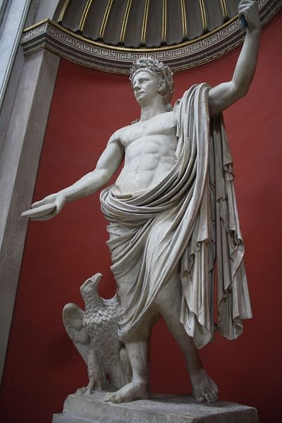 Claudius as Jupiter
