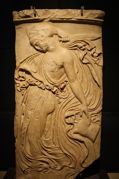 Maenad Relief, Capitoline Museums
