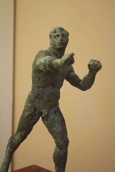 Greek Pankratiast (by Mark Cartwright, CC BY-NC-SA)