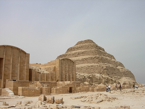 Step Pyramid Complex of Saqqara (by xiquinhosilva)