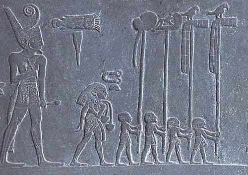 Narmer, Narmer Palette Detail