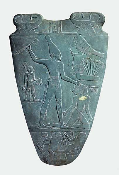 Narmer Conquering His Enemies (by Unknown, Public Domain)