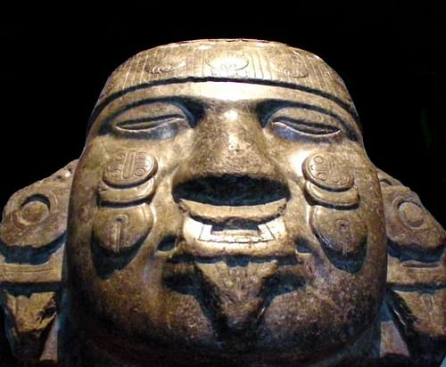 Coyolxauhqui Head (by Alberto Martinez Subtil, CC BY-NC-ND)