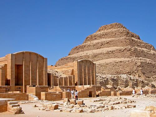 Step Pyramid Complex at Saqqara