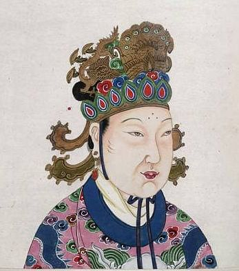 Empress Wu Zetian (by Unknown)