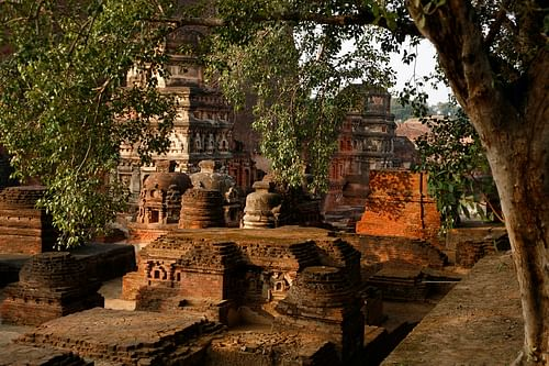 Ruins of Nalanda, Bihar (by Tushar Dayal, CC BY-NC-SA)