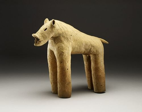 Wild Boar Haniwa (by The Trustees of the British Musem)