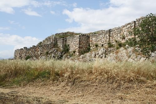 Tiryns (by Mark Cartwright)