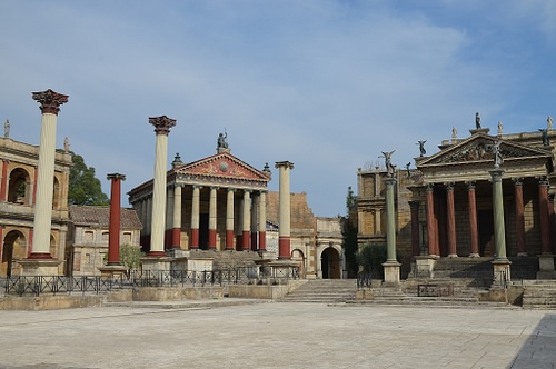 Reconstruction of Roman Temples