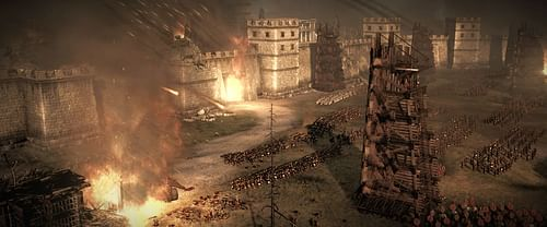 Siege Warfare (by The Creative Assembly, Copyright)