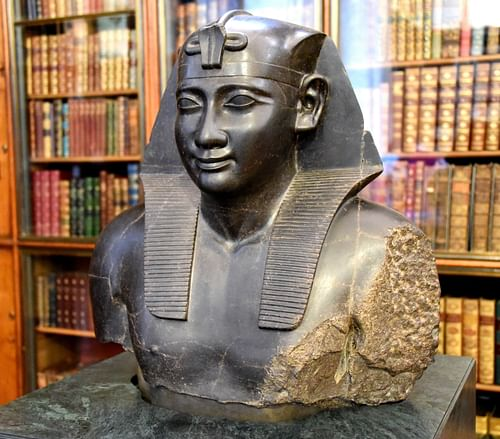 Bust of Ptolemy I (by )
