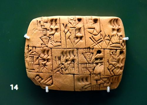 Mesopotamian Beer Rations Tablet