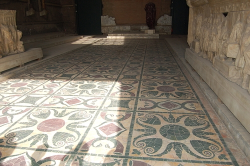 Floor of the Curia