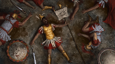 Fallen Greek Hoplite (by The Creative Assembly)