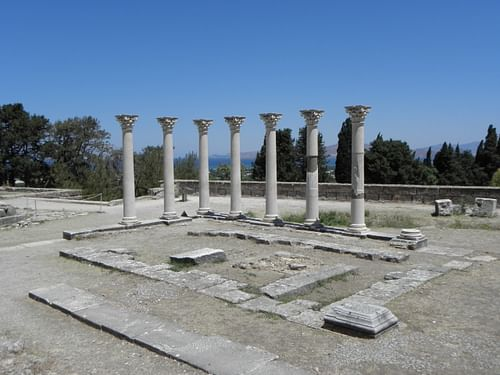 Temple of Apollo, Asclepeion, Kos (by Tedmek, CC BY-SA)