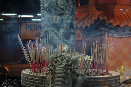 Burning Incense, Hungry Ghosts Festival