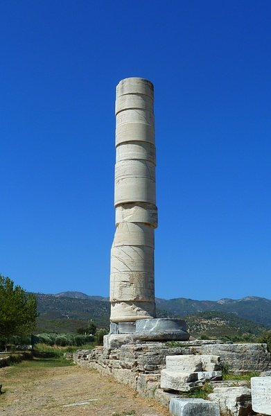 Column of the Heraion, Samos (by Kramer96, CC BY)