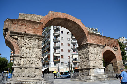 Arch of Galerius, Thessalonica (by Dan Diffendale, CC BY-NC-SA)