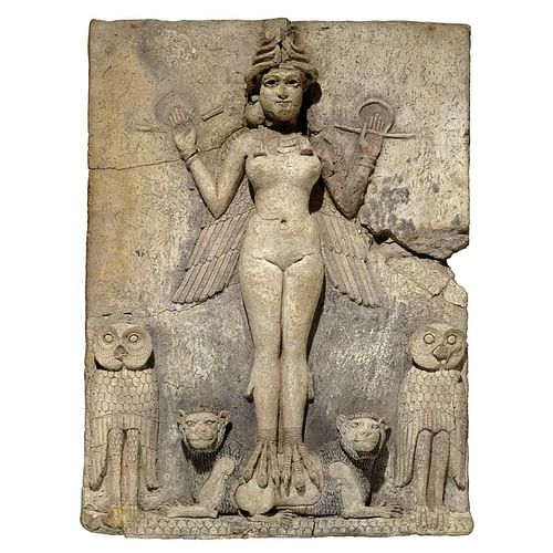 Queen of the Night, Old Babylon (by Trustees of the British Museum, Copyright)