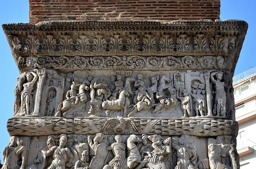 Relief Scenes, Arch of Galerius, Thessalonica