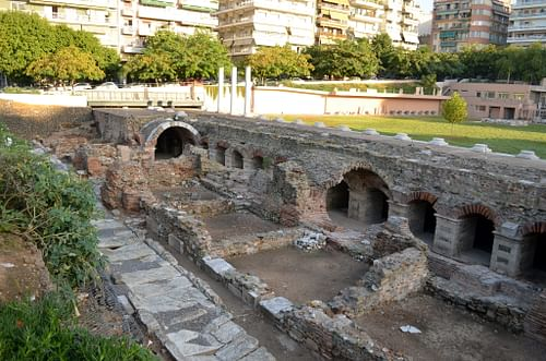 Roman forum, Thessalonica