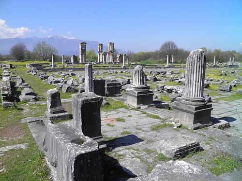 Roman Forum, Philippi (by Carole Raddato)