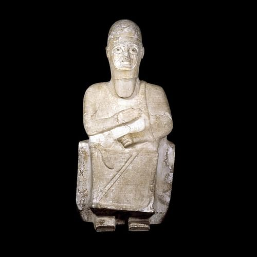 Statue of Idrimi (by Trustees of the British Museum, Copyright)