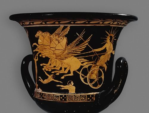 Helios Red-Figure Vase (by The British Museum, Copyright)