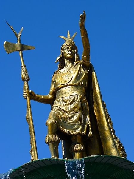 Pachacuti Inca Yupanqui (por desconocido, dominio público)