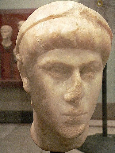 Emperor Constantius II (by Mary Harrsch (Photographed at the University of Pennsylvania Museum of Archaeology))