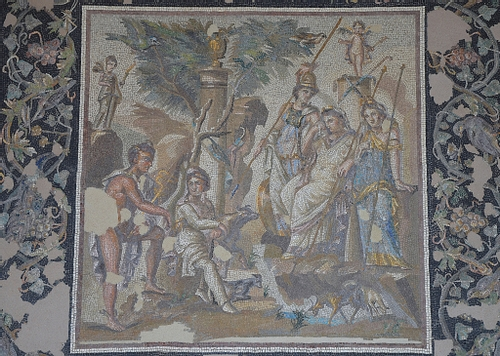 Mosaic of the Judgement of Paris