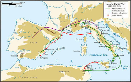Campaigns of the Second Punic War
