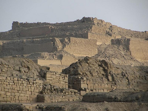 Temple of the Sun, Pachacamac (by Steven Damron)