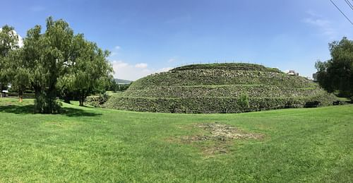 Temple Mound of Cuicuilco (by T.J. DeGroat)