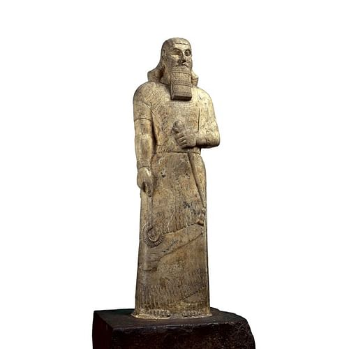Statue of Ashurnasirpal II (by Trustees of the British Museum)