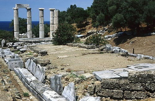 Temple of the Great Gods, Samothrace