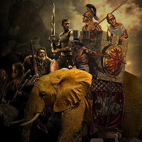 Hannibal Riding a War Elephant (by jaci XIII, CC BY-NC-SA)