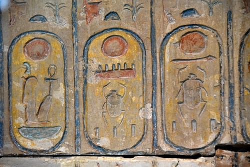 King-list of Egypt, Detail of the 18th Dynasty