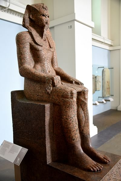 Statue of King Sobekemsaf I or II (by Osama Shukir Muhammed Amin, CC BY-NC-SA)