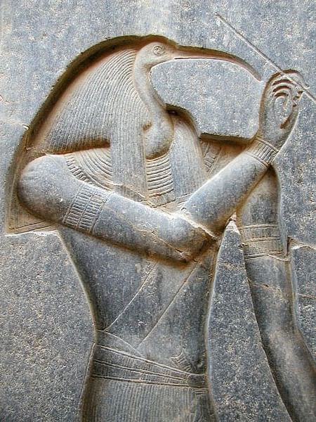 Thoth, Luxor Relief