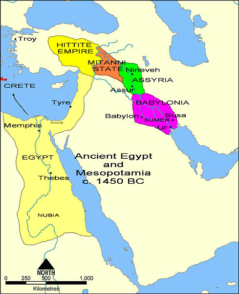 The Fertile Crescent Map Fertile Crescent   Ancient History Encyclopedia The Fertile Crescent Map
