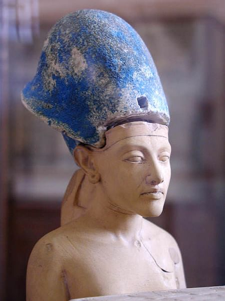 Pharaoh Akhenaten, Cairo Museum (by John Bodsworth, CC BY)