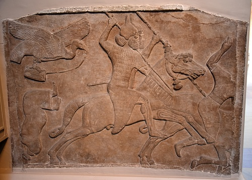 Assyrian Battle Scene