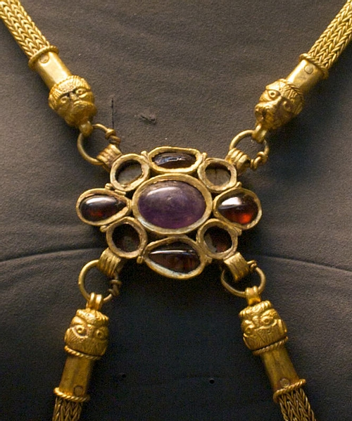 Body Chain Detail, Hoxne Hoard