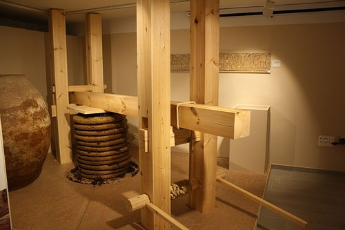 Roman Wine Press (Reconstruction)