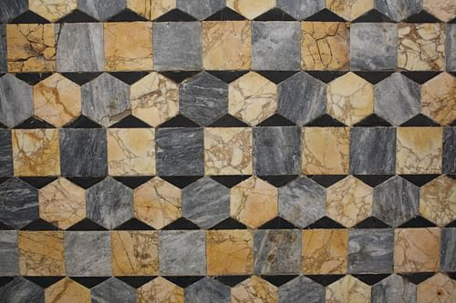 Opus Sectile Flooring [Hexagons]